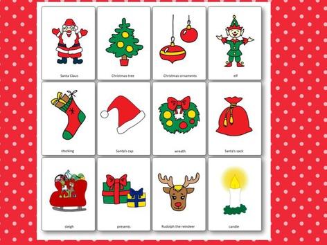 Christmas Vocabulary  by Carolina Sánchez García