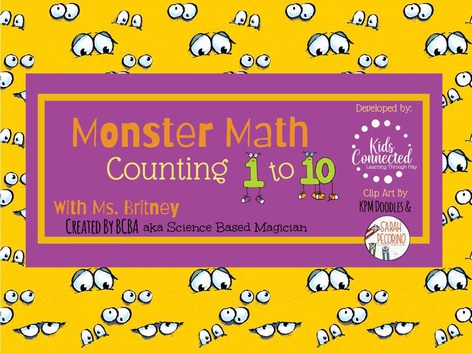 Counting 1-10: Monster Math by Kids  Connected