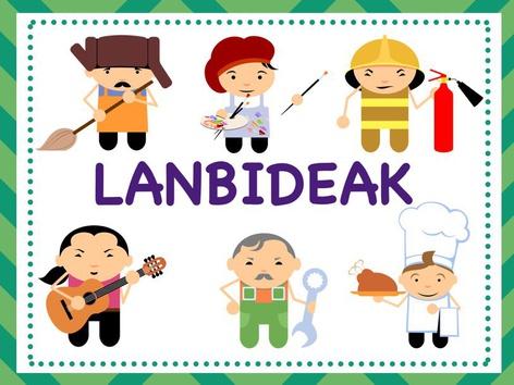 LANBIDEAK+ESKOLAKO LANGILEAK  by Sara Martinez De Arrieta