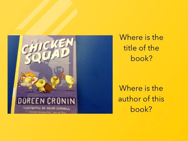 Chicken squad Grade 1 by Roberta Shapiro