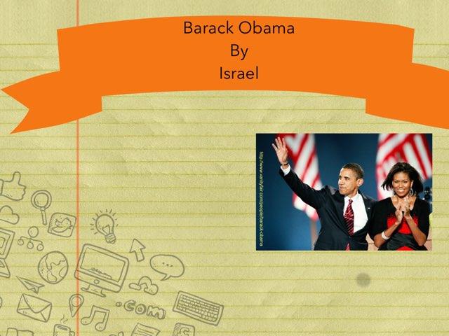 Barack Obama By Israel by Christine Snow