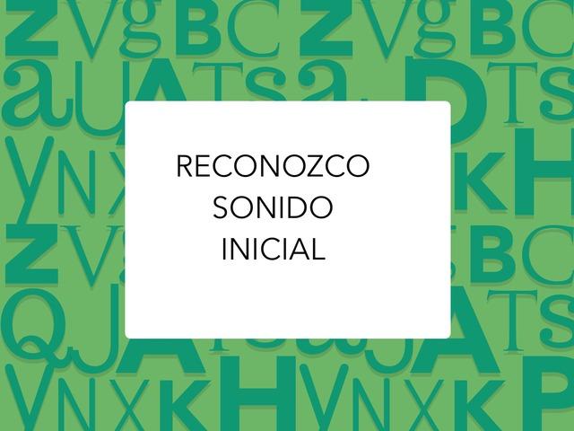 RECONOZCO SONIDO INICIAL by LAURA PARDO
