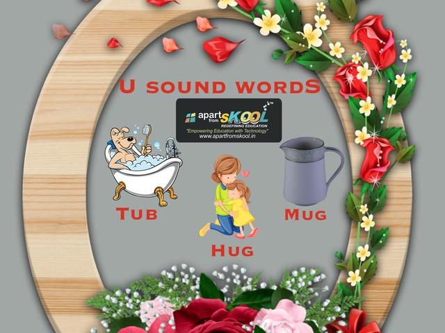 U Sound Words by TinyTap creator