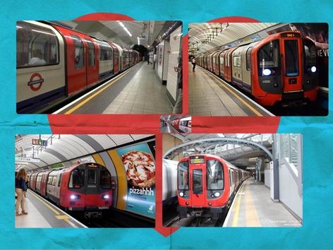 London Underground  by Hugo Markov