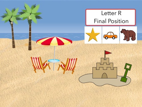 Letter R : Final Position Of Words  by Carol Smith
