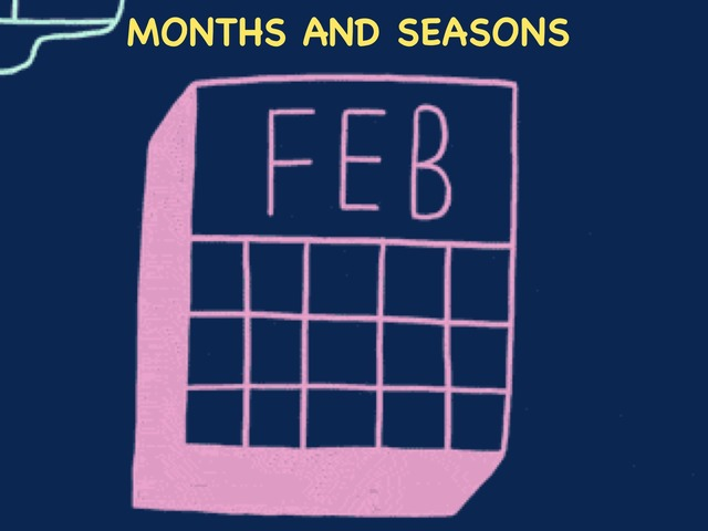 Months And Seasons by English Time