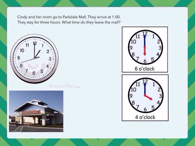Time Clocks Hour #2 by Carol Smith - Educational Games for