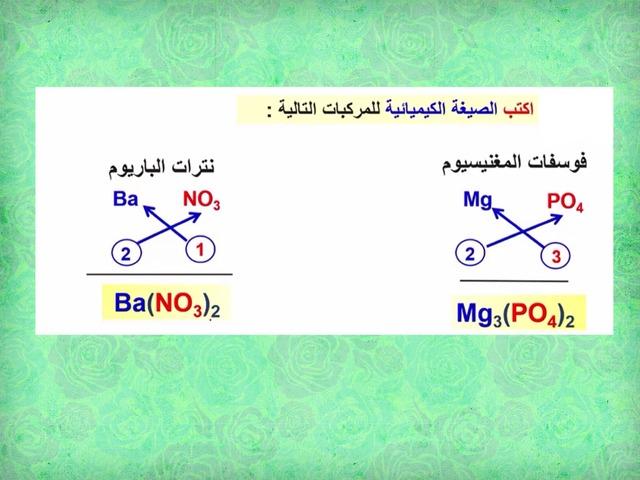 الرموز  والصيغ الكيميائية  by سلمانة سلمانة