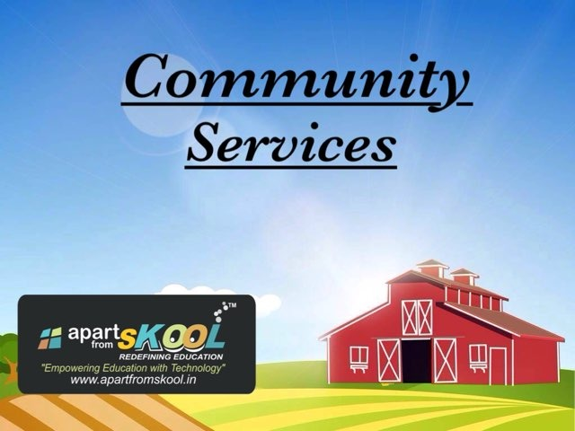 Community Services by TinyTap creator