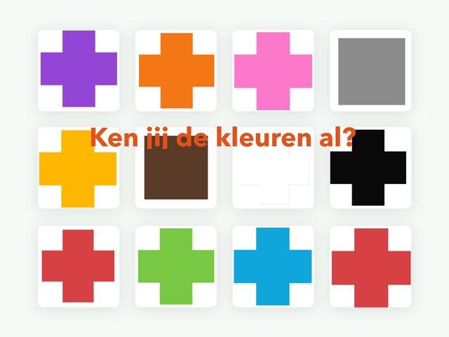 Ken jij de kleuren al? by Willie-Janne Kramer