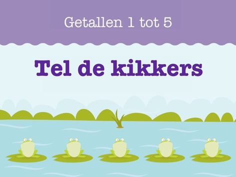 Tel De Kikkers by Miss Humblebee