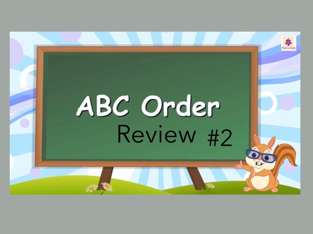 ABC Order: Review #2 by Carol Smith