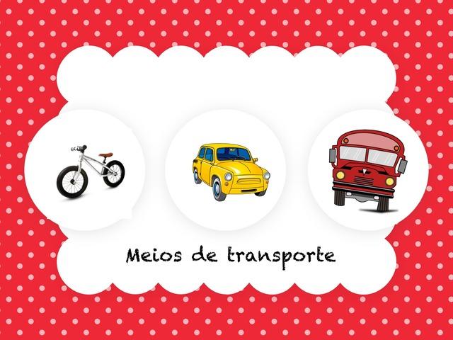 Quebra-cabeça Meios De Transporte  by Flávia Gomes