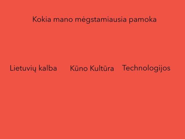 Pauliuko Quiz by Penktokai VPG