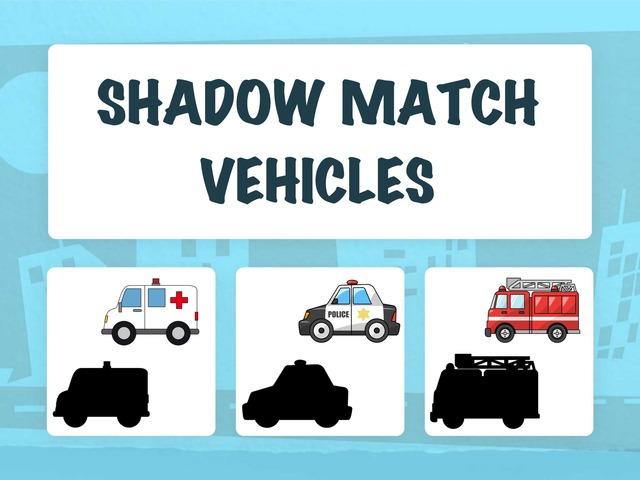 Shadow Match - Vehicles by Hadi  Oyna