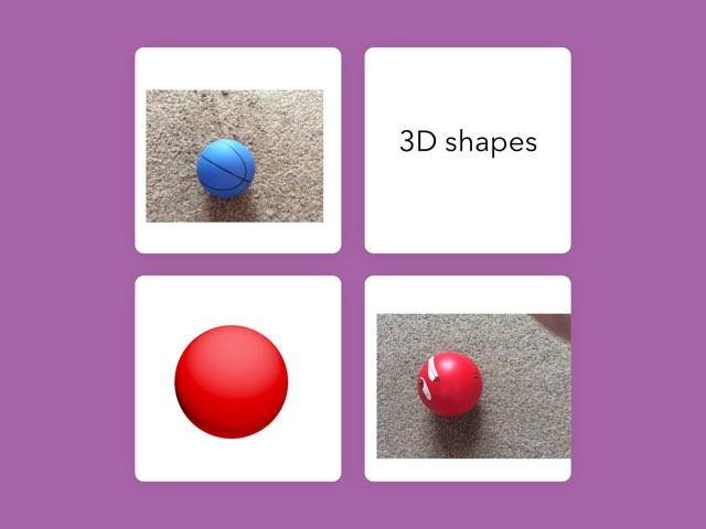 3D Shapes  by Katie Norman Towers
