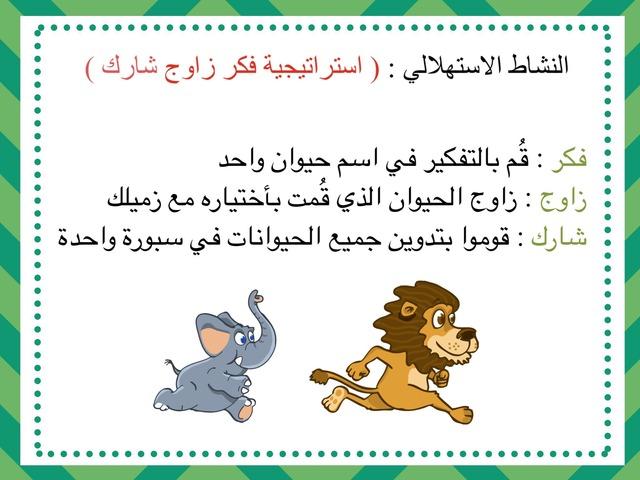 محمية العرين by Fatma Ahmed