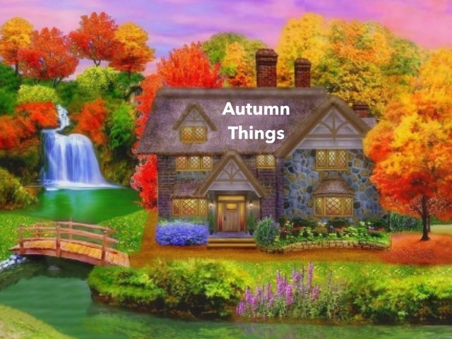 autumn things recognition by Teeny Tiny TEFL