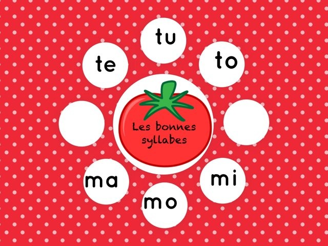 Mots Et Syllabes  by Marie S