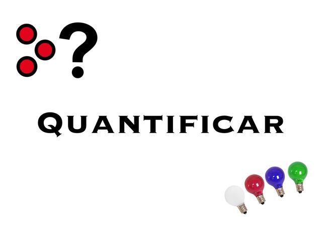 Quantificar by Leticia Ferreira