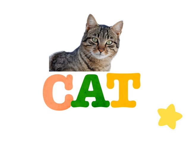 Cat Phoneme Shape Puzzle by Tim Fahy