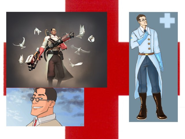 Medic Tribute  by Forrest Bayly