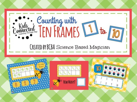 Ten Frame With Number Line 1-10: Jam Edition by Kids  Connected