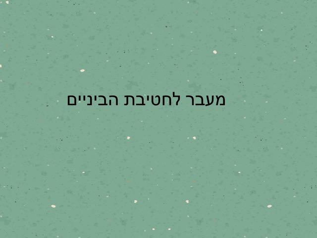מעבר לחטיבת ביניים יהלי ושלומית by יהלי נוסבאום