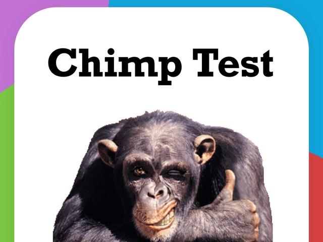 Chimp Test (Ayumu) by Yogev Shelly