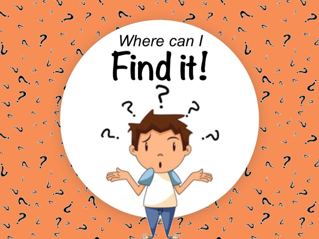 Find It! by Ellen Weber