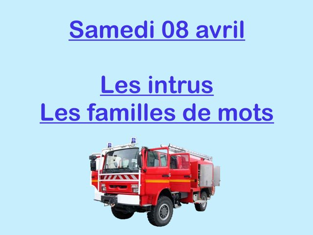 L - Sam08 - Intrus Et Familles  by Caroline Gozdek