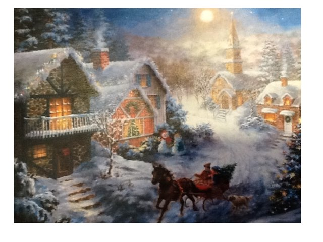 Christmas Morning by Vicki Hamer