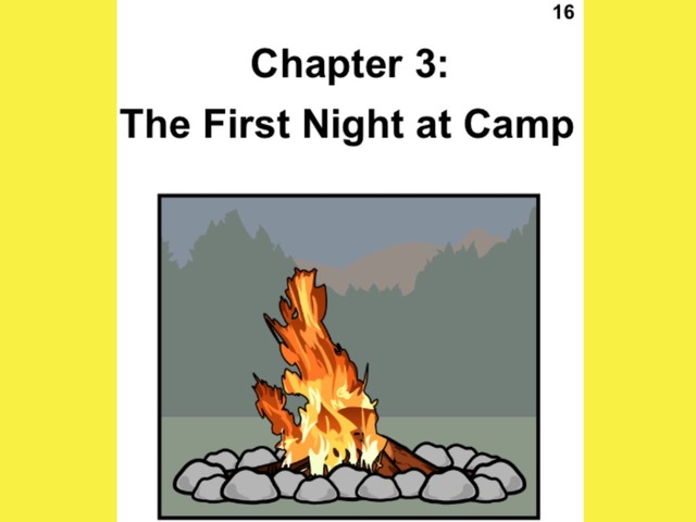 Unique Summer Unit Chapter 3: The First Night at Camp  by Tanya Folmsbee