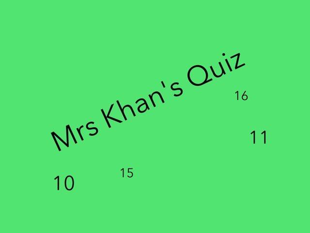 Mrs khan by Ben kenyon