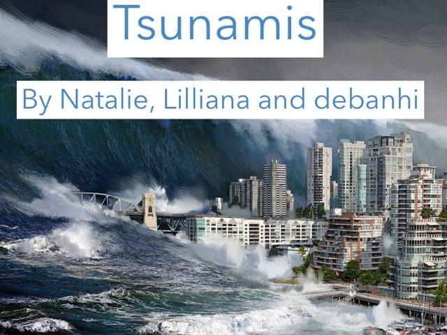 Tsunamis By Natalie Liliana Debanhi by Jane Miller _ Staff - FuquayVarinaE