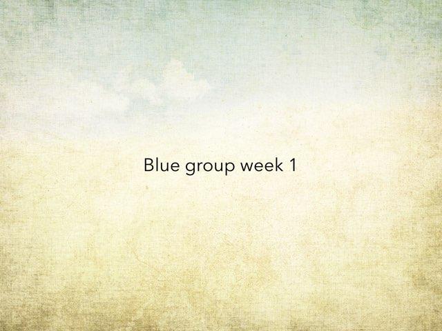 Blue Group by Jeff Faulk