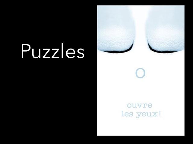 Ouvre Les Yeux / Puzzle by Veronique Blais