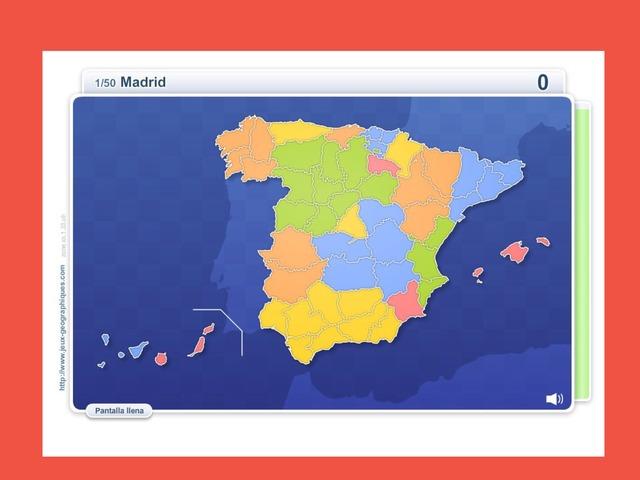 Las Provincias de España by Samuel Carballares Quesada