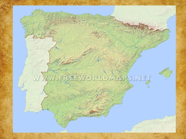 4 Moutain Sytems of Spain by Oliver James Hetherington Bartlett