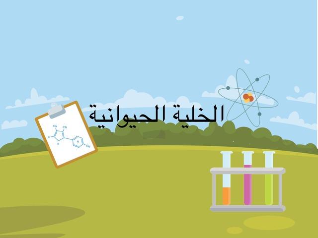 الخلية الحيوانية - عمل الطالبة شدن حافظ by Shadan Hafiz