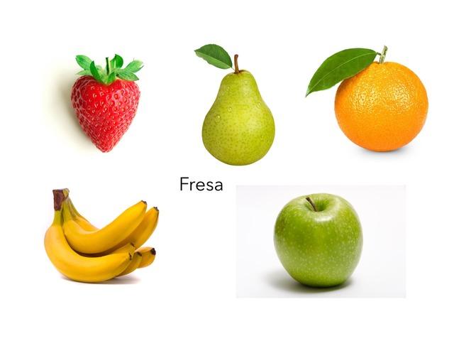 Frutas by Isabel Domínguez Hernández