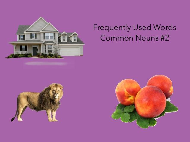 Common Nouns #2 by Carol Smith