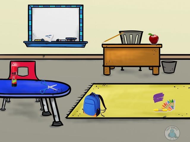 SCHOOL THINGS by María López de Haro