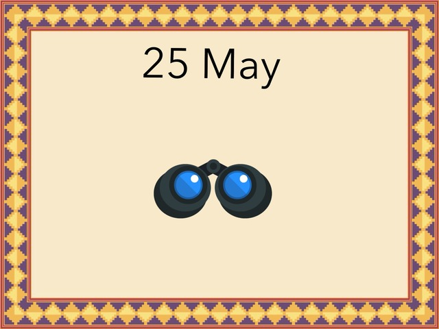 25 May by Resource Room