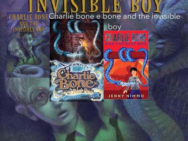 Spencer Hawkes Book Report Charlie Bone And The Invisible Boy by Mr Torrey