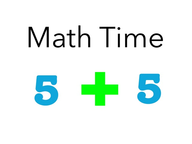 Math Time by TinyTap creator