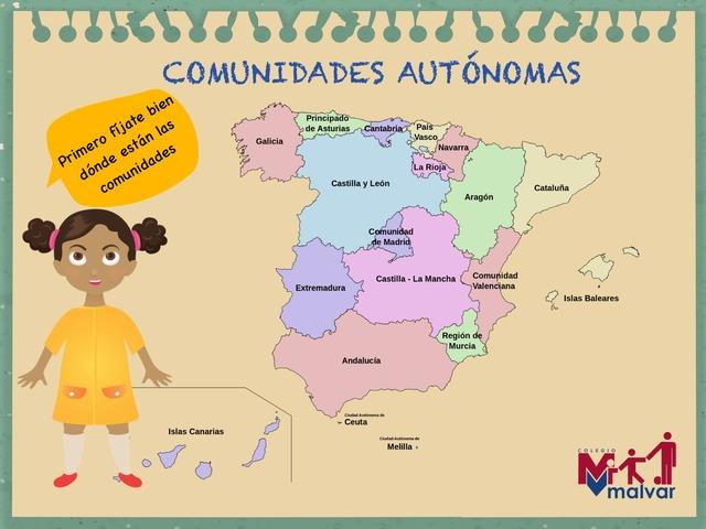 Aprende Las Provincias, 2º Primaria by Laura Mañueco