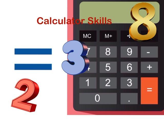 Calculator Skills by Jennifer Cunningham