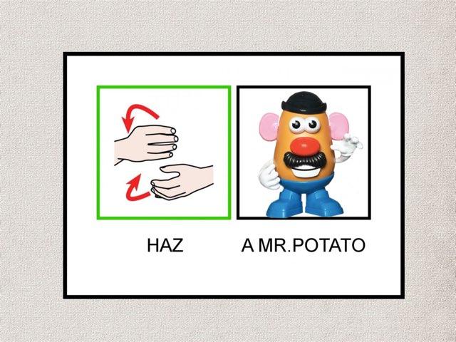 Mr. Potato by Zancisco Cosecha