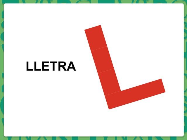 La Lletra /L/ by Pili Sola